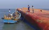 Chìm tàu trên sông Soài Rạp: Điều trực thăng ra hiện trường tìm kiếm