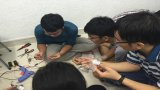 Sinh viên ngành kỹ thuật truyền lửa sáng tạo