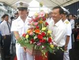 Tuần dương hạm Le Vendémiaire của Hải quân Pháp thăm Đà Nẵng