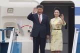 Chùm ảnh: Chủ tịch Trung Quốc Tập Cận Bình đến Hà Nội
