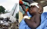 Bé gái 14 tháng tuổi sống sót kỳ diệu sau vụ rơi máy bay ở Nam Sudan