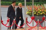 Lễ đón trọng thể Tổng Bí thư, Chủ tịch nước Trung Quốc Tập Cận Bình
