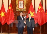 Chủ tịch nước Trương Tấn Sang hội đàm với ông Tập Cận Bình