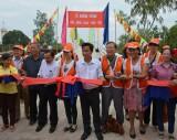 Khánh thành cầu giao thông nông thôn xã Thủy Đông, huyện Thạnh Hóa