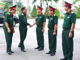 Kiểm tra công tác quân sự-quốc phòng