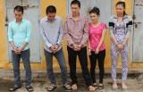 5 đối tượng thực hiện gần 30 vụ trộm cắp tài sản