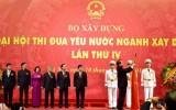 Phó Thủ tướng Vũ Văn Ninh trao Huân chương Độc lập cho Bộ Xây dựng