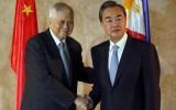 Sau tranh chấp Biển Đông, Ngoại trưởng Trung Quốc đến Philippines