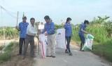 Châu Thành: Phát động thu gom rác, vỏ chai, bao bì thuốc bảo vệ thực vật
