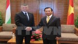 Đoàn đại biểu cấp cao Quốc hội Hungary thăm thành phố Đà Nẵng