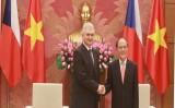 Chủ tịch Thượng viện Séc thăm chính thức Việt Nam