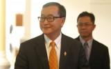 Đối mặt với lệnh bắt giữ, Chủ tịch Đảng đối lập Campuchia hoãn về nước