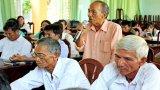 Tiếp xúc cử tri xã Phước Tuy, huyện Cần Đước