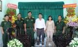 Bộ Chỉ huy quân sự tỉnh chúc mừng ngày Nhà giáo Việt Nam