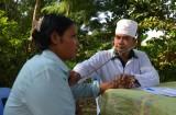 Bộ đội biên phòng Long An khám-chữa bệnh cho người dân biên giới Campuchia