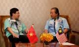 Việt Nam-Malaysia thúc đẩy hợp tác trên nhiều lĩnh vực