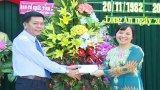 Trường Chính trị Long An họp mặt kỷ niệm 33 năm ngày Nhà giáo Việt Nam