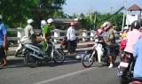 Tai nạn giao thông trên cầu Tân An, 1 người nguy kịch