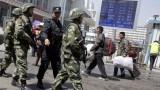"""Trung Quốc dùng súng phun lửa tiêu diệt """"khủng bố"""" Tân Cương"""