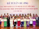 Vinh danh 194 nhà giáo xuất sắc trong giáo dục học sinh khuyết tật