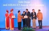Trao giải thưởng Công nghệ Thông tin và Truyền thông ASEAN 2015