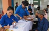 Quân khu 7 về nguồn tại xã Bình Hòa Nam
