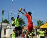 Quân khu 9 vô địch giải bóng chuyền kỷ niệm 70 năm thành lập Quân khu 7