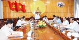 Thường trực Tỉnh ủy  cho ý kiến về nội dung tổng kết công tác tổ chức Đại hội Đảng bộ tỉnh lần thứ X
