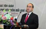Ông Nguyễn Thiện Nhân dự hội nghị các tôn giáo với biến đổi khí hậu