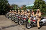 Long An tìm hiểu truyền thống lực lượng Cảnh sát giao thông
