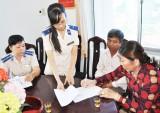 Cục THADS tỉnh Long An tiếp công dân ở thị xã Kiến Tường