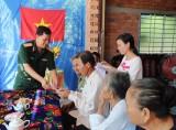 Quân khu 7 bàn giao 4 căn nhà tình nghĩa tại huyện Tân Thạnh