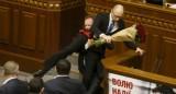 Ẩu đả trong cuộc họp Quốc hội, Thủ tướng Ukraine bị tấn công