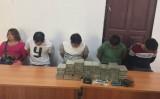 Bắt 5 người Lào đưa 60 bánh heroin vào Việt Nam tiêu thụ