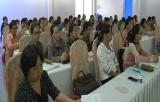 Tập huấn chăm sóc sức khỏe phụ nữ tiền mãn kinh