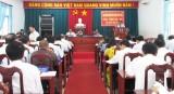 HĐND huyện Thủ Thừa tổ chức kỳ họp thứ 18 HĐND huyện khóa X, nhiệm kỳ 2011-2016