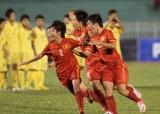 Đội tuyển nữ Việt Nam lọt vào top 6 châu Á