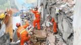 Lở đất rợn người, 17 tòa nhà thi nhau đổ sập