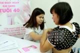 Tỷ lệ mắc ung thư ở phụ nữ Việt Nam đang có xu hướng tăng nhanh