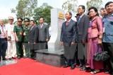Sắp khánh thành 2 cột mốc trên biên giới Việt Nam-Campuchia