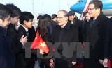 Chủ tịch Quốc hội gặp mặt cộng đồng Việt kiều tại Trung Quốc