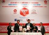 Toyota tài trợ cho V-League 2016 40 tỉ đồng