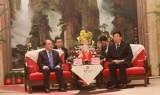 Chủ tịch Quốc hội tiếp Bí thư Tỉnh ủy Hồ Nam, Trung Quốc