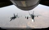 Liên quân quốc tế dồn dập tấn công IS tại Syria và Iraq