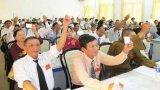 Đại hội Hội khuyến học Việt Nam tỉnh Long An lần thứ IV: Bầu Ban chấp hành gồm 43 thành viên