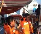 Hai tàu thủy đâm nhau trên biển, 1 tàu chìm, 1 người mất tích