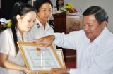 Chi cục THADS thị xã Kiến Tường: Nâng cao hiệu quả thi hành án