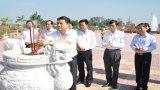 Phó Bí thư Thường trực Tỉnh ủy Bắc Ninh - Nguyễn Hữu Quất thăm Long An