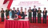 Bàn giao mặt bằng KCN Việt Phát