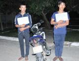 Bắt 2 đối tượng trộm xe đưa sang Campuchia tiêu thụ